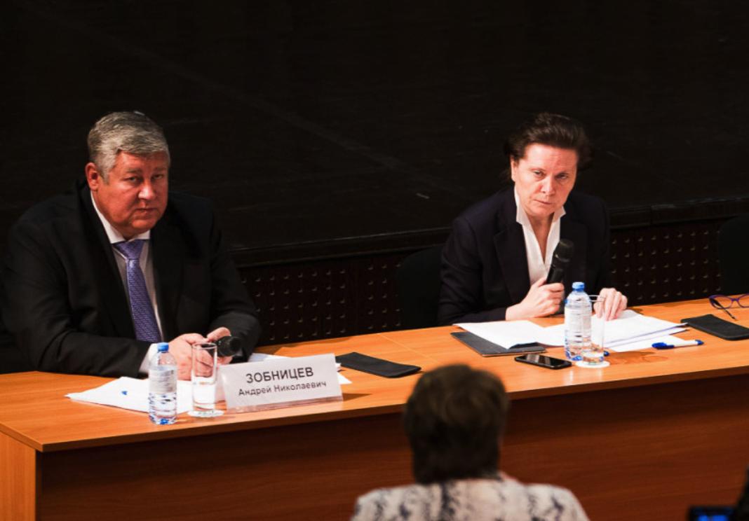 Зобницев официально покинул правительство Комаровой, его обязанности временно возложены на Охлопкова