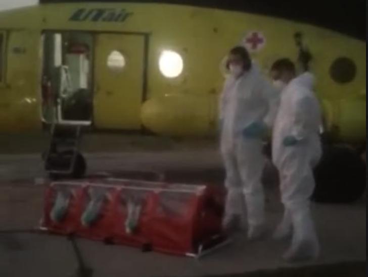 Стали известны подробности посадки вертолёта с медиками, которые перепугали жителей Селиярово
