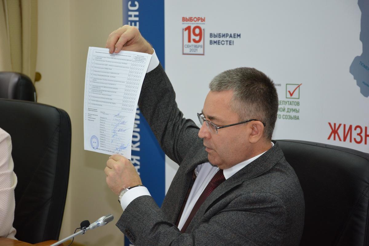 Коммунисты, которым отдали лишь третье место по итогам выборов в Тюменскую облдуму, отказались признавать результаты