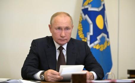 Президент РФ Путин рассказал о нескольких десятках заболевших ковидом в его окружении